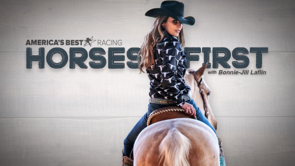 Horses First with Bonnie-Jill Laflin: Hanging Out with Touch Gold at Old Friends