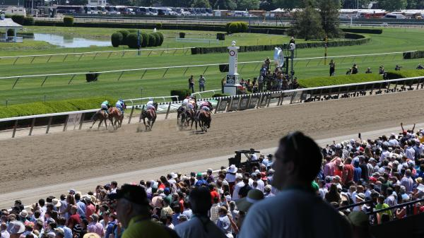 Belmont Stakes Backdrop Photos for Your Next Zoom Meeting