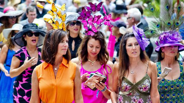 Frills and Thrills on Opening Day at Del Mar
