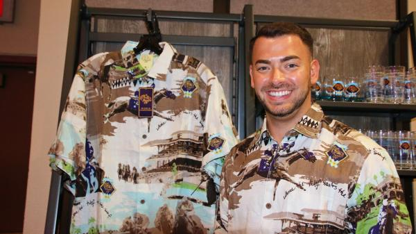 Del Mar's 'Cool as Ever' Hawaiian Shirts a Hit at Breeders' Cup