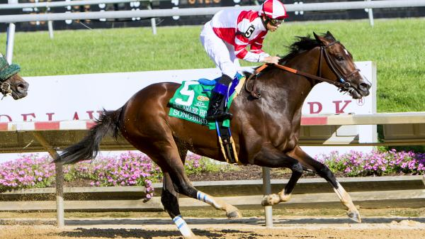 Songbird Digs In for Delaware Handicap Score
