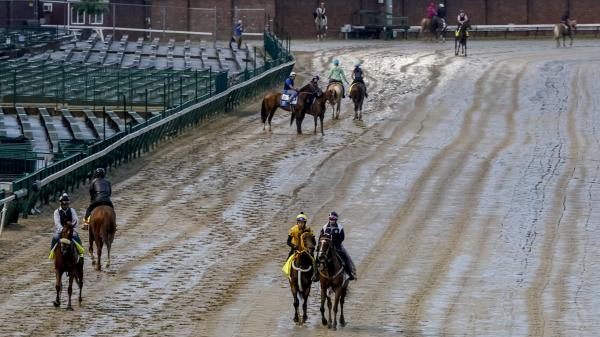 SLIDESHOW: Morning Training Before 2020 Kentucky Derby