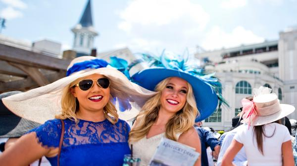 SLIDESHOW: Hats and Fascinators the Height of Fashion at the Kentucky Derby