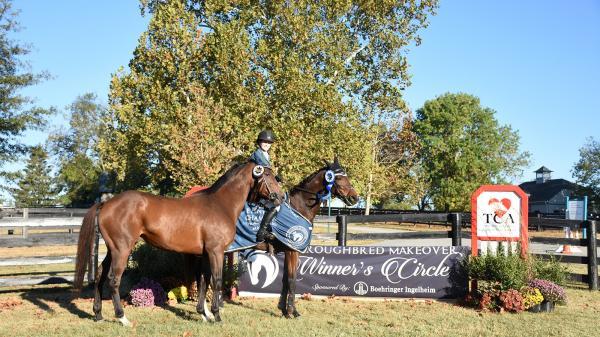 Rosie Napravnik's Trio of Ex-Racehorses Excel at Thoroughbred Makeover