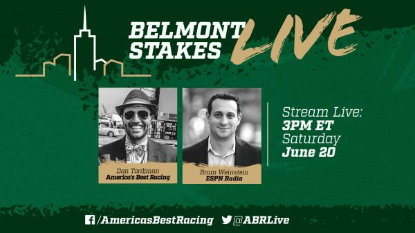 Watch ABR's Belmont Stakes Live Show This Saturday