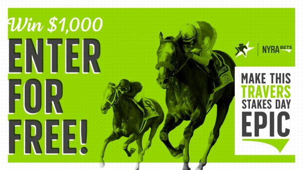 Win $1,000 Playing Travers Stakes Sweepstakes