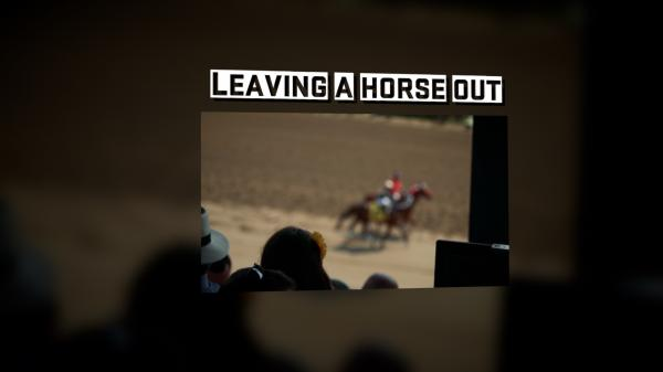 #TheAction: Leaving a Horse Out