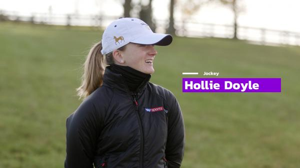 #BC20: Jockey Hollie Doyle on Making Her Breeders' Cup Debut