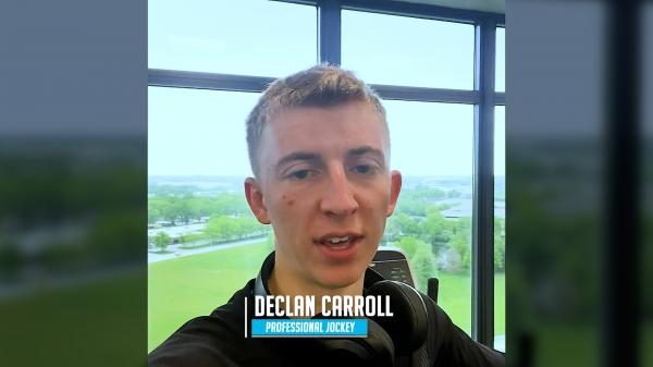 Behind the Goggles: Declan Carroll Putting in Work on 'Off' Day