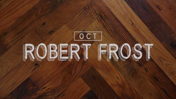 Robert Frost: Cocktail of the Month