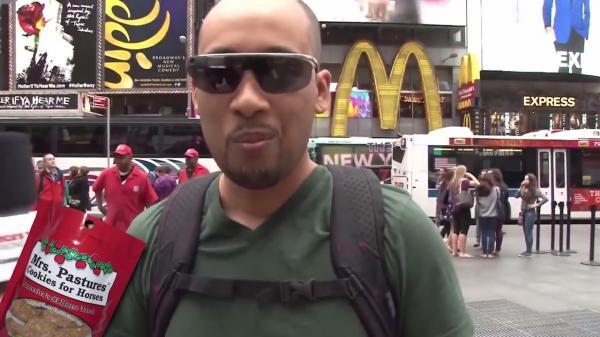 Times Square Taste Test: California Chrome's Cookies