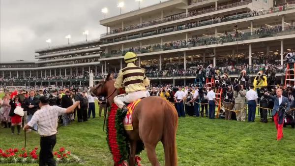Behind the Scenes: 2019 Kentucky Derby Winner's Circle