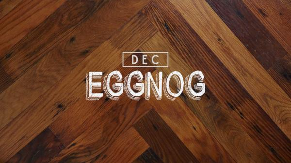 Eggnog: Cocktail of the Month