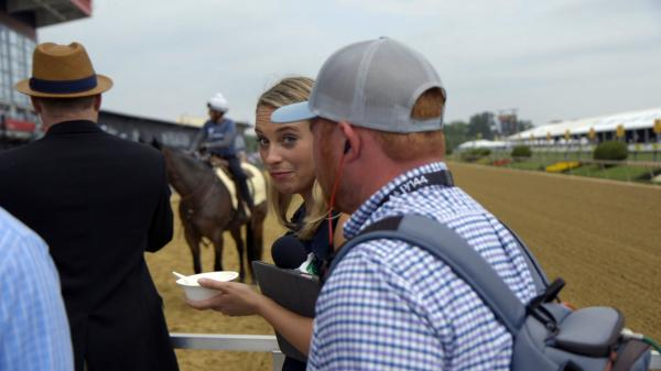 Abr Wired Experience The Preakness With Gabby Gaudet