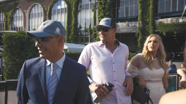 Gronkowski: Behind the Scenes at Belmont