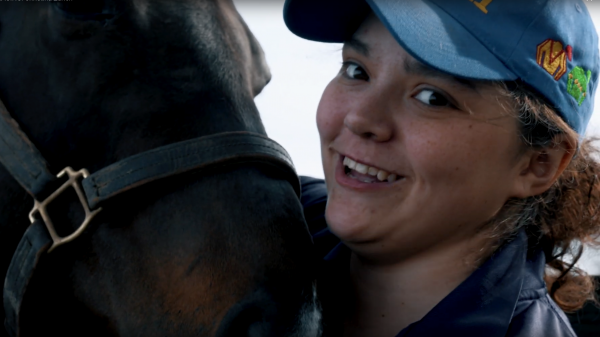 I Am Horse Racing: Christina Zurich
