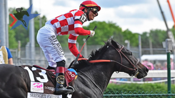 Serengeti Spotlight: The Red and White Checkered Silks