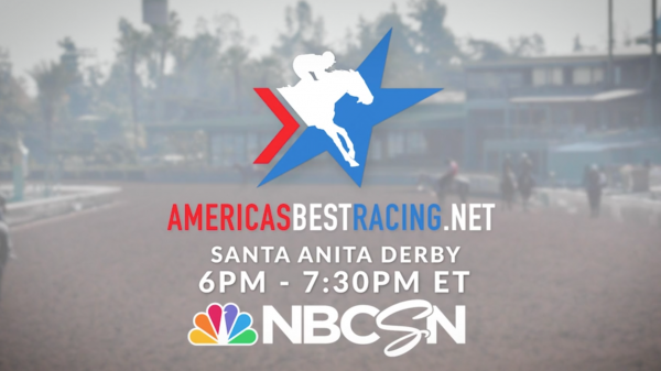 Watch the Santa Anita Derby Live From Home Saturday