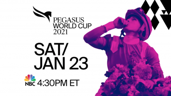 Tune in to NBC Jan. 23 for the 2021 Pegasus World Cup