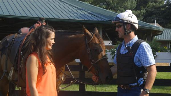 Seen … Behind the Scenes at WinStar Farm's Training Center
