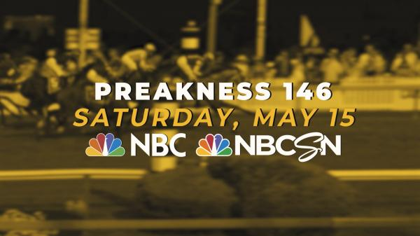 Catch the 2021 Preakness Stakes May 15 on NBC