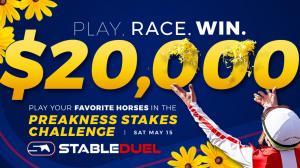 Play StableDuel's $20,000 Preakness Challenge