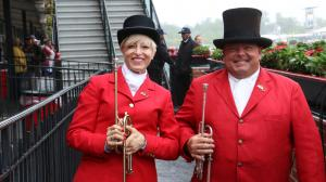 Meet the Schoolteacher Who Moonlights as Triple Crown Bugler