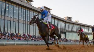 Super Stock Springs the Upset in Arkansas Derby
