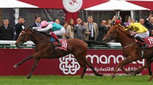 Two-time Arc winner Enable is among the Europeans invading for this year's Breeders' Cup.