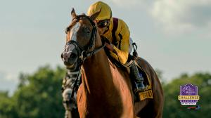 Good Magic was an impressive winner of the betfair.com Haskell Invitational on Sunday.