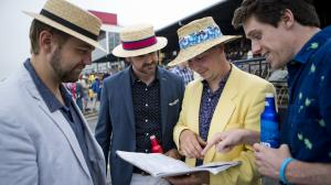 Building a Betting Strategy for a Competitive Los Alamitos Derby