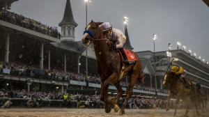 Triple Crown winner Justify remains at No.1 on this week's racehorse rankings.