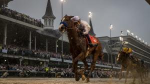 Triple Crown winner Justify remains at No.1 on this week's racehorse rankings.