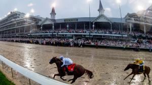 Justify heads to the Preakness after an impressive Kentucky Derby win.