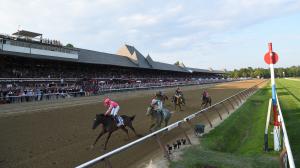 Tenacious Tax Takes Jim Dandy, Imperial Hint Sets Track Record in Vanderbilt