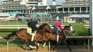 Probable Kentucky Derby Favorite Omaha Beach Flawless in Final Tune-Up