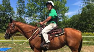 Thoroughbred Makeover Diary: Teamwork Key to Overcoming Obstacles