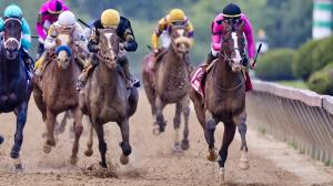 War of Will (right) remains the No. 1-ranked 3-year-old in the country ahead of the Belmont Stakes.