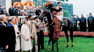 Bobby Ussery won the 1967 Kentucky Derby aboard 30-1 longshot Proud Clarion for owner Darby Dan Farm and trainer Loyd Gentry.