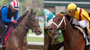 Mark Casse-trained Wonder Gadot (left) and Telekinesis are two of the top contenders for this year's Queen's Plate.