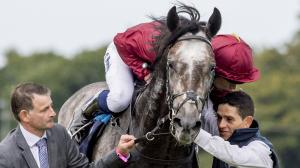 Roaring Lion could be a major Longines Breeders' Cup Turf threat if he ships from Europe for the race.