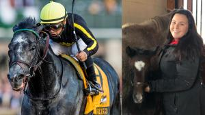 Sabrina Moore bred Grade 1 winner and Breeders' Cup contender Knicks Go.