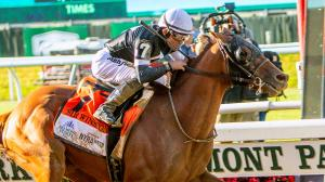 Sir Winston earned a place in the top 10 with his Belmont Stakes win.