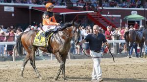 Imperial Hint dominated the Vanderbilt on Saturday at Saratoga.