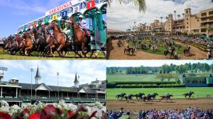 Saratoga, Del Mar, Churchill Downs, and Keeneland are all finalists for America's Best Racing's Fan Choice Awards.