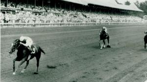 Arts and Letters wins the 1969 Travers Stakes.