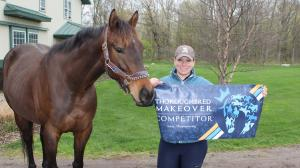 Wex and Jessica with their RRP banner