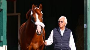 Justify 'Bright' After Thrilling Preakness Victory