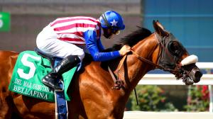 Bellafina Much the Best in Del Mar Debutante