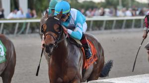 Blamed May Lead Start to Finish in Ogden Phipps